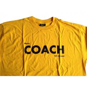 T-Shirt Round-T Medium James+Nicholson - Coach-Aufdruck