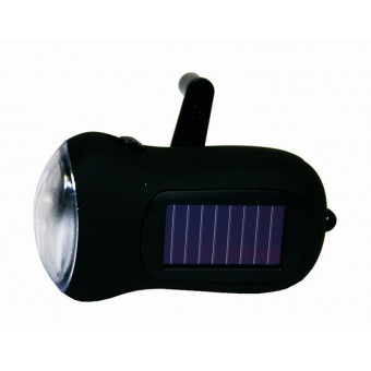 LED-Kurbellampe